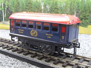 "Hornby Hachette Series French O Gauge Blue Red Roof ""Saloon"" 1st Class Coach NEW Boxed image 3"