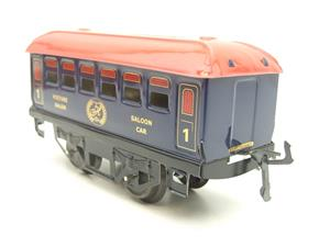 "Hornby Hachette Series French O Gauge Blue Red Roof ""Saloon"" 1st Class Coach NEW Boxed image 6"