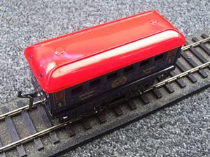 "Hornby Hachette Series French O Gauge Blue Red Roof ""Saloon"" 1st Class Coach NEW Boxed image 7"