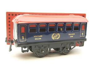 "Hornby Hachette Series French O Gauge Blue Red Roof ""Saloon"" 1st Class Coach NEW Boxed image 10"