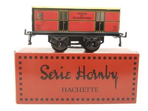 "Hornby Hachette Series French O Gauge ETAT Red Post Parcel ""Postes ET Telegraphes"" Van Wagon NEW Bxd image 1"