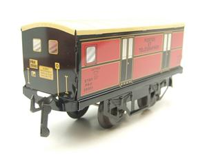 "Hornby Hachette Series French O Gauge ETAT Red Post Parcel ""Postes ET Telegraphes"" Van Wagon NEW Bxd image 2"