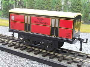 "Hornby Hachette Series French O Gauge ETAT Red Post Parcel ""Postes ET Telegraphes"" Van Wagon NEW Bxd image 3"