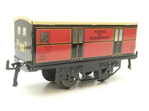 "Hornby Hachette Series French O Gauge ETAT Red Post Parcel ""Postes ET Telegraphes"" Van Wagon NEW Bxd image 4"