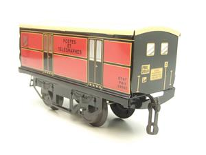 "Hornby Hachette Series French O Gauge ETAT Red Post Parcel ""Postes ET Telegraphes"" Van Wagon NEW Bxd image 6"