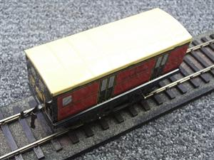 "Hornby Hachette Series French O Gauge ETAT Red Post Parcel ""Postes ET Telegraphes"" Van Wagon NEW Bxd image 7"