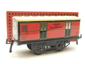 "Hornby Hachette Series French O Gauge ETAT Red Post Parcel ""Postes ET Telegraphes"" Van Wagon NEW Bxd image 10"
