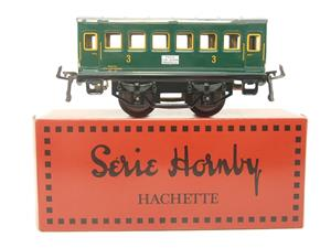 "Hornby Hachette Series French O Gauge ""SNCF"" Green 3rd Class Coach NEW Boxed image 1"