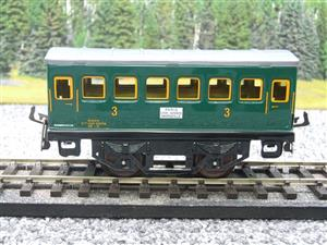 "Hornby Hachette Series French O Gauge ""SNCF"" Green 3rd Class Coach NEW Boxed image 5"