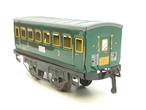 "Hornby Hachette Series French O Gauge ""SNCF"" Green 3rd Class Coach NEW Boxed image 6"