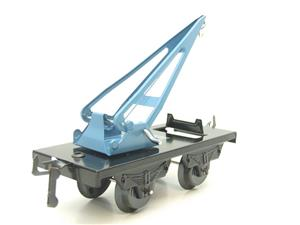 "Hornby Hachette Series French O Gauge 10 Ton ""Blue Crane Truck"" Wagon NEW Boxed image 2"