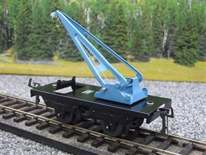 "Hornby Hachette Series French O Gauge 10 Ton ""Blue Crane Truck"" Wagon NEW Boxed image 3"