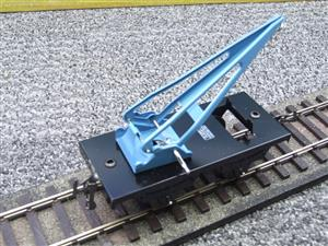 "Hornby Hachette Series French O Gauge 10 Ton ""Blue Crane Truck"" Wagon NEW Boxed image 7"