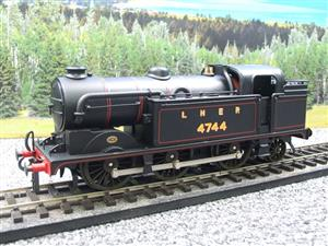 Ace Trains O Gauge E11A LNER Satin Black N2 Class 0-6-2 Tank Loco R/N 4744 Electric 2/3 Rail Boxed image 3