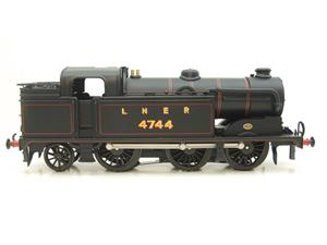 Ace Trains O Gauge E11A LNER Satin Black N2 Class 0-6-2 Tank Loco R/N 4744 Electric 2/3 Rail Boxed image 5