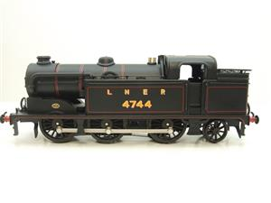 Ace Trains O Gauge E11A LNER Satin Black N2 Class 0-6-2 Tank Loco R/N 4744 Electric 2/3 Rail Boxed image 8