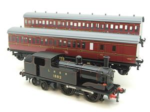 Ace Trains O Gauge E25/S-B1 LNER Black G5 Tank Loco R/N 1882 & Coaches Set Electric 2/3 Rail NEW Bxd image 9