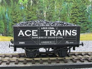 Ace Trains O Gauge G5 Private Owner Loco Coal Wagon R/N 2985 2/3 Rail image 1