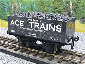 Ace Trains O Gauge G5 Private Owner Loco Coal Wagon R/N 2985 2/3 Rail image 3