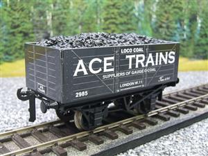 Ace Trains O Gauge G5 Private Owner Loco Coal Wagon R/N 2985 2/3 Rail image 10