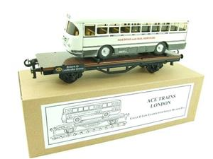 Ace Trains O Gauge G/3LL Low Loader With Single Decker Bus Boxed image 3