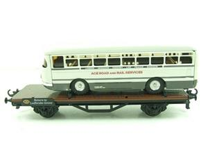 Ace Trains O Gauge G/3LL Low Loader With Single Decker Bus Boxed image 6