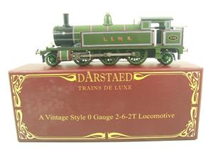 "Darstaed O Gauge ""LSWR"" Green 2-6-2 Tank Loco R/N 516 Electric 3 Rail Boxed image 1"