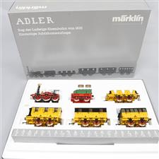 Gauge 1 Marklin 5750 Adler Steam Loco Collectors Set Electric 2 Rail Boxed image 1