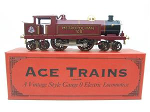 "Ace Trains O Gauge EMR/1 ""Metropolitan"" 4-4-4 Tank Loco R/N 108 Electric 3 Rail Boxed image 1"