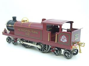 "Ace Trains O Gauge EMR/1 ""Metropolitan"" 4-4-4 Tank Loco R/N 108 Electric 3 Rail Boxed image 6"