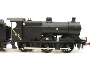 Ace Trains O Gauge E5H Fowler 4F Class 0-6-0 Loco and Tender R/N 44027 BR Post 57 Logo Satin Black image 4