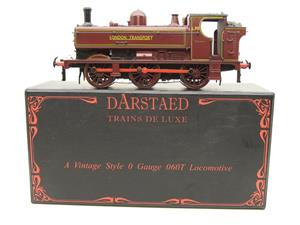 "Darstaed O Gauge LT ""London Transport"" Pannier Tank Loco L.95 Electric 3 Rail Boxed image 1"