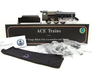 Ace Trains O Gauge E19-K3, Black 5, With Dome & Riveted Tender Loco Kit Form 2/3 Rail Bxd Brand NEW image 1