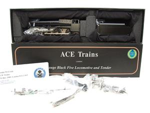 Ace Trains O Gauge E19-K3, Black 5, With Dome & Riveted Tender Loco Kit Form 2/3 Rail Bxd Brand NEW image 9