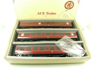Ace Trains O Gauge C13B BR MK1 MR Coaches x3 Set B Boxed 2/3 Rail image 1