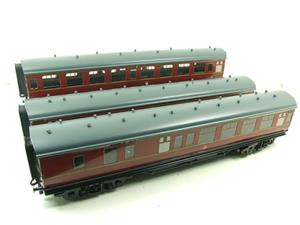 Ace Trains O Gauge C13B BR MK1 MR Coaches x3 Set B Boxed 2/3 Rail image 2