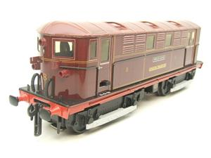 "Ace Trains O Gauge E17 London Transport Red Vickers Bo-Bo ""Sherlock Holmes"" Loco No 8 image 2"