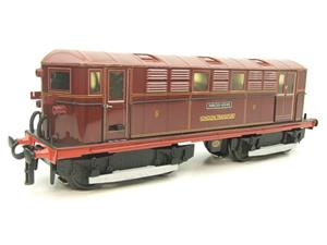 "Ace Trains O Gauge E17 London Transport Red Vickers Bo-Bo ""Sherlock Holmes"" Loco No 8 image 4"