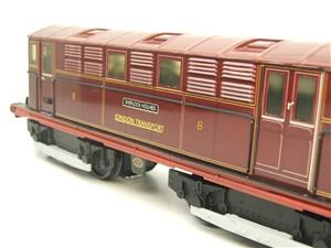 "Ace Trains O Gauge E17 London Transport Red Vickers Bo-Bo ""Sherlock Holmes"" Loco No 8 image 8"