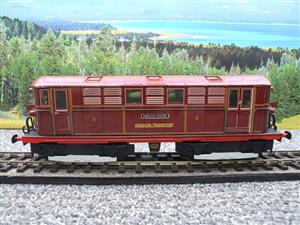 "Ace Trains O Gauge E17 London Transport Red Vickers Bo-Bo ""Sherlock Holmes"" Loco No 8 image 9"