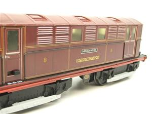 "Ace Trains O Gauge E17 London Transport Red Vickers Bo-Bo ""Sherlock Holmes"" Loco No 8 image 10"
