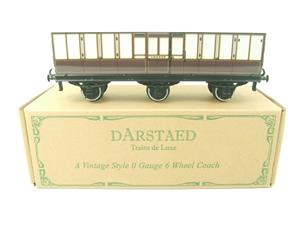 "Darstaed O Gauge ""LBSCR"" Six Wheel Full Brake Coach Boxed image 1"
