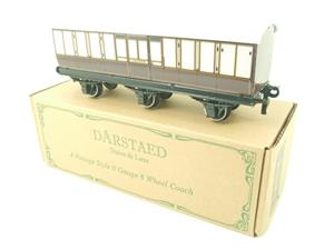 "Darstaed O Gauge ""LBSCR"" Six Wheel Full Brake Coach Boxed image 2"