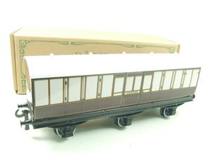 "Darstaed O Gauge ""LBSCR"" Six Wheel Full Brake Coach Boxed image 3"