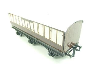 "Darstaed O Gauge ""LBSCR"" Six Wheel Full Brake Coach Boxed image 4"
