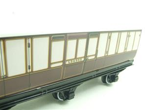 "Darstaed O Gauge ""LBSCR"" Six Wheel Full Brake Coach Boxed image 5"