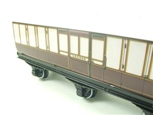 "Darstaed O Gauge ""LBSCR"" Six Wheel Full Brake Coach Boxed image 6"