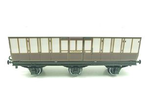 "Darstaed O Gauge ""LBSCR"" Six Wheel Full Brake Coach Boxed image 7"