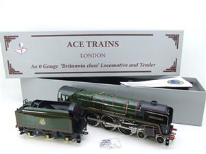 "Ace Trains O Gauge E27L BR Britannia Class ""Firth of Forth"" RN 70051 Electric 2/3 Rail Boxed image 4"