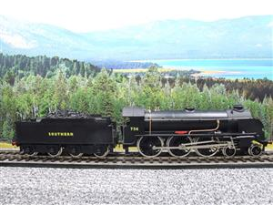 "ACE Trains O Gauge E/34-D1 Bulleid SR Wartime Satin Black 4-6-0 ""Excalibur"" 736 Elec 2/3 Rail image 4"